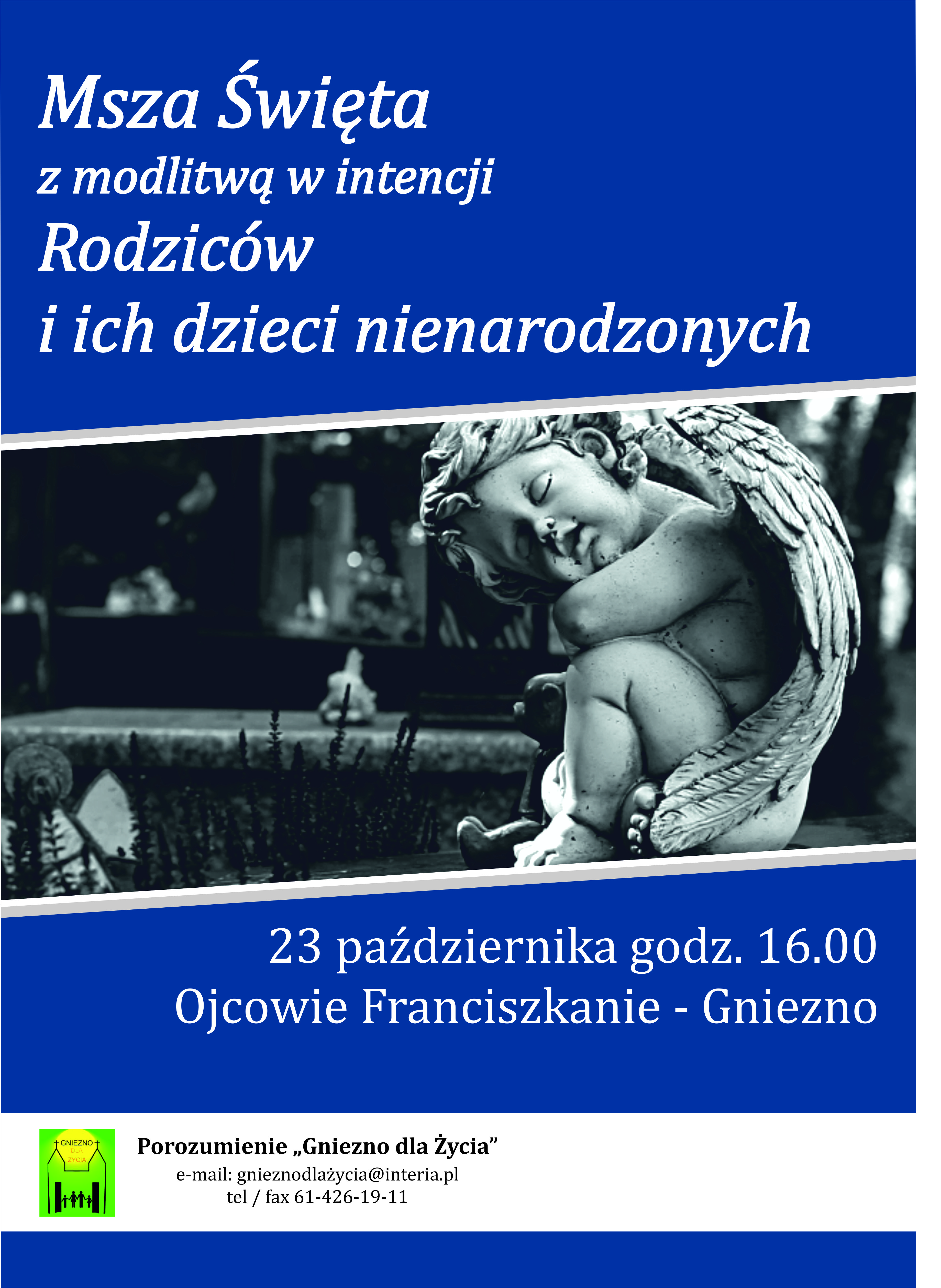 Zaproszenie Gniezno W Hołdzie Dla życia Katolickie Stowarzyszenie